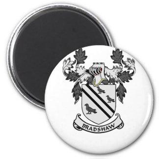 BRADSHAW Coat of Arms 6 Cm Round Magnet
