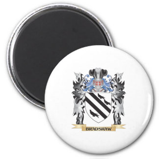 Bradshaw Coat of Arms - Family Crest 6 Cm Round Magnet