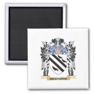 Bradshaw Coat of Arms - Family Crest Square Magnet