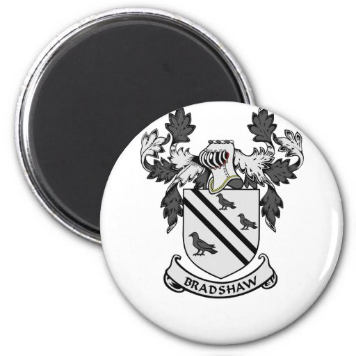 BRADSHAW Coat of Arms Refrigerator Magnet
