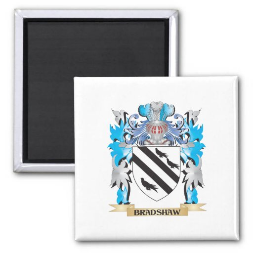 Bradshaw Coat of Arms Refrigerator Magnets