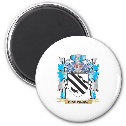 Bradshaw Coat of Arms Fridge Magnets