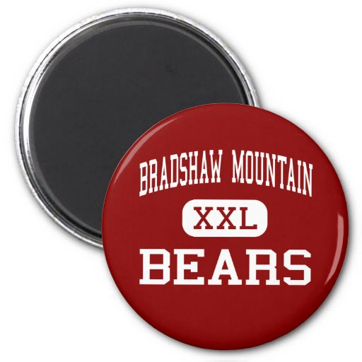 Bradshaw Mountain - Bears - High - Prescott Valley Fridge Magnet