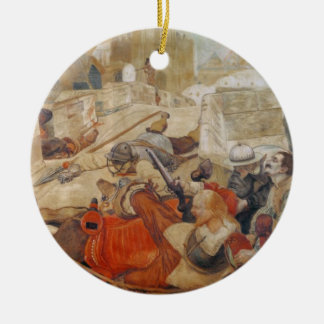 Bradshaw's defence of Manchester (1642) Christmas Ornament