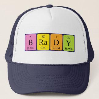 Brady periodic table name hat