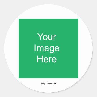 Brag-o-matic Patent Sticker