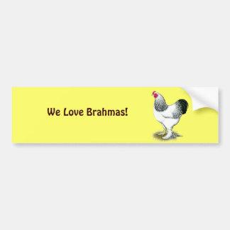 Brahma:  Light Rooster Bumper Sticker