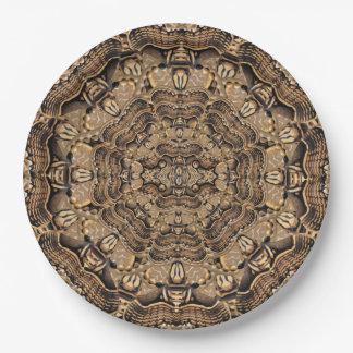 Brahmin Moth 9 Inch Paper Plate