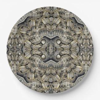 Brahmin Moth Paper Plate