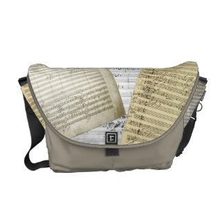 Brahms Music Manuscript Medley Commuter Bag