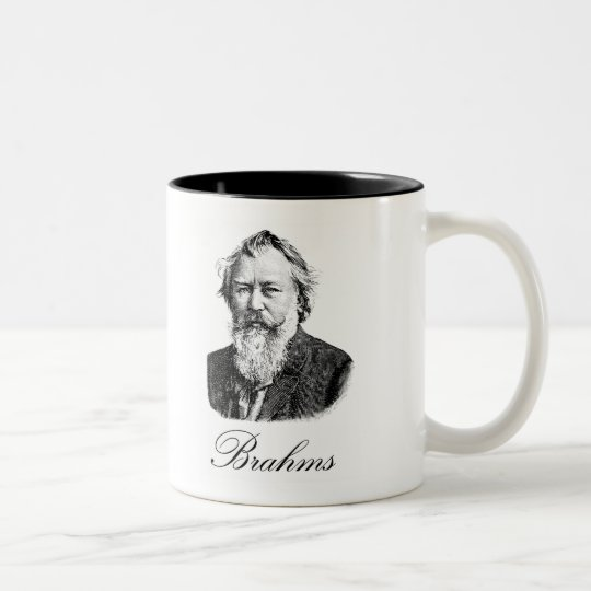 Brahms Two-Tone Coffee Mug