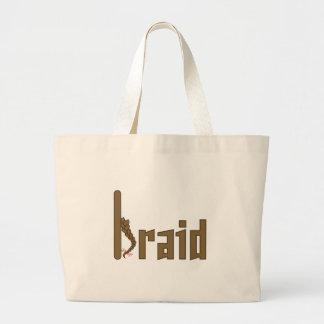 Braid Jumbo Tote Bag