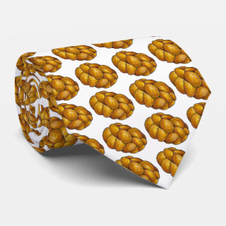 Braided Challah Bread Loaf Jewish Food Holiday Tie