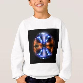 Braided light sweatshirt