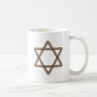 Braided Star of David Bar or Bat Mitzvah Mugs