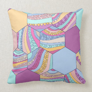 BRAIDSHEXSUMMER THROW PILLOW