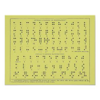 Braille Alphabet  Postcard