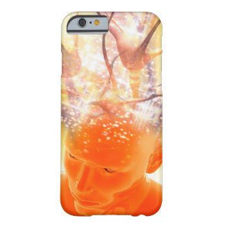 Brain activity, conceptual computer artwork. barely there iPhone 6 case