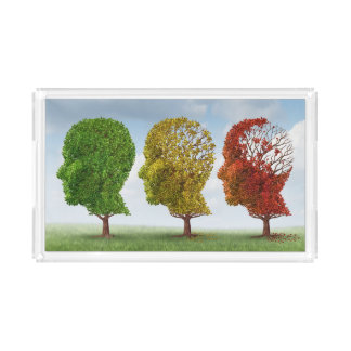 Brain Aging Acrylic Tray