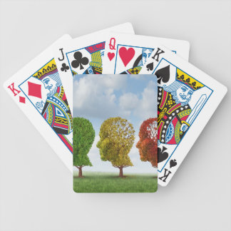Brain Aging Bicycle Playing Cards
