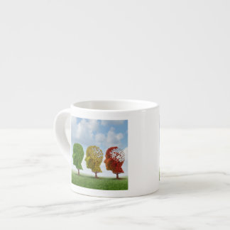 Brain Aging Espresso Cup