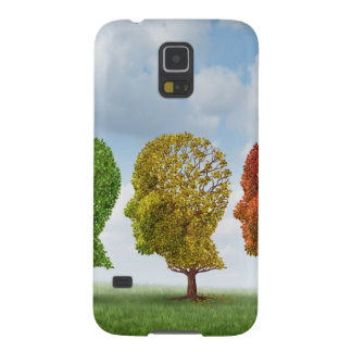 Brain Aging Galaxy S5 Covers