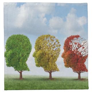 Brain Aging Napkin