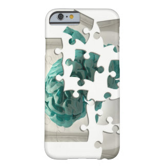 Brain analysis, conceptual computer artwork. barely there iPhone 6 case