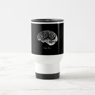Brain Anatomy - Use It Travel Mug