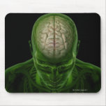 Brain Arteries Mouse Pads