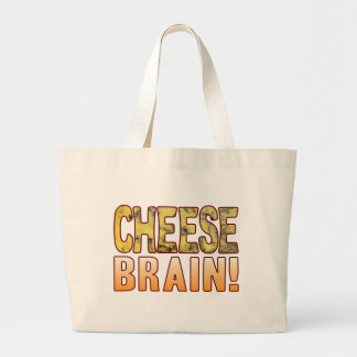 Brain Blue Cheese Large Tote Bag