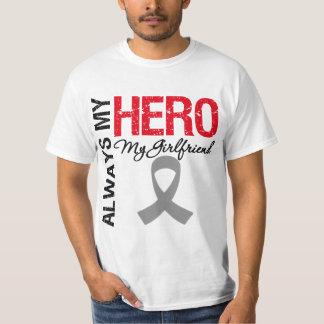Brain Cancer Always My Hero My Girlfriend Tee Shirt