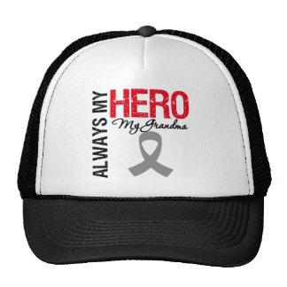 Brain Cancer Always My Hero My Grandma Hat