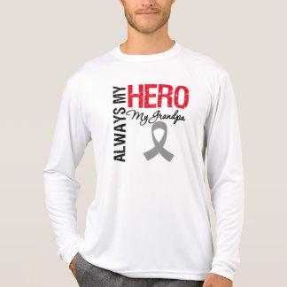 Brain Cancer Always My Hero My Grandpa Tshirts