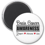 Brain Cancer Awareness & Advocacy Refrigerator Magnet