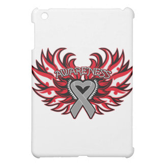 Brain Cancer Awareness Heart Wings.png Case For The iPad Mini