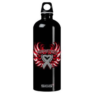 Brain Cancer Awareness Heart Wings SIGG Traveller 1.0L Water Bottle