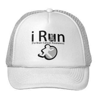 Brain Cancer Awareness I Run Trucker Hats