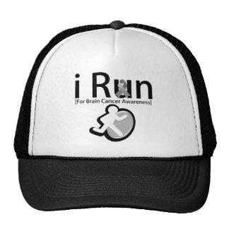 Brain Cancer Awareness I Run Mesh Hat