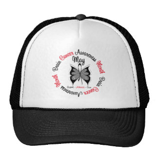 Brain Cancer Awareness Month Circular Cap