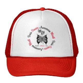 Brain Cancer Awareness Month Circular Mesh Hat