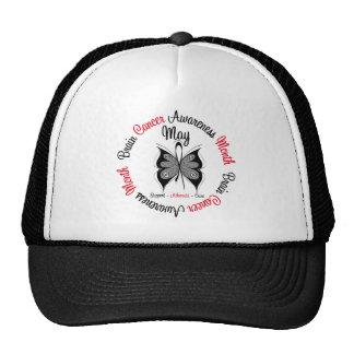 Brain Cancer Awareness Month Circular Hat