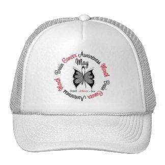 Brain Cancer Awareness Month Circular Trucker Hats