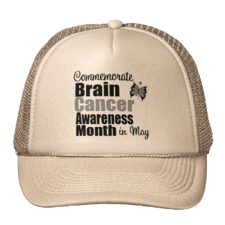Brain Cancer Awareness Month - Commemorate Mesh Hat