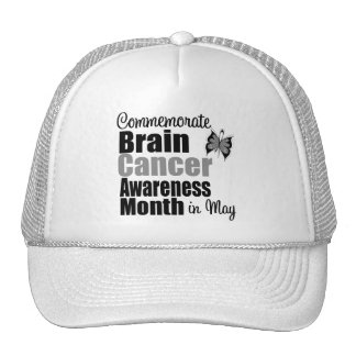 Brain Cancer Awareness Month - Commemorate Hat