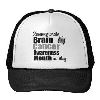 Brain Cancer Awareness Month - Commemorate Hats