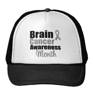 Brain Cancer Awareness Month Ribbon Cap