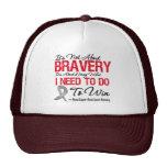 Brain Cancer Battle Cap
