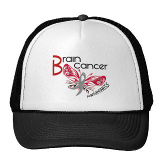 Brain Cancer BUTTERFLY 3 Hat