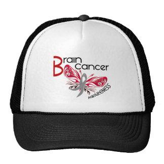 Brain Cancer BUTTERFLY 3 Cap